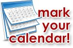 Mark Your Calendar – Upcoming Events!