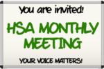 HSA Meeting Announcement
