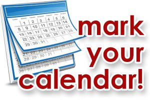 Image result for mark your calendar